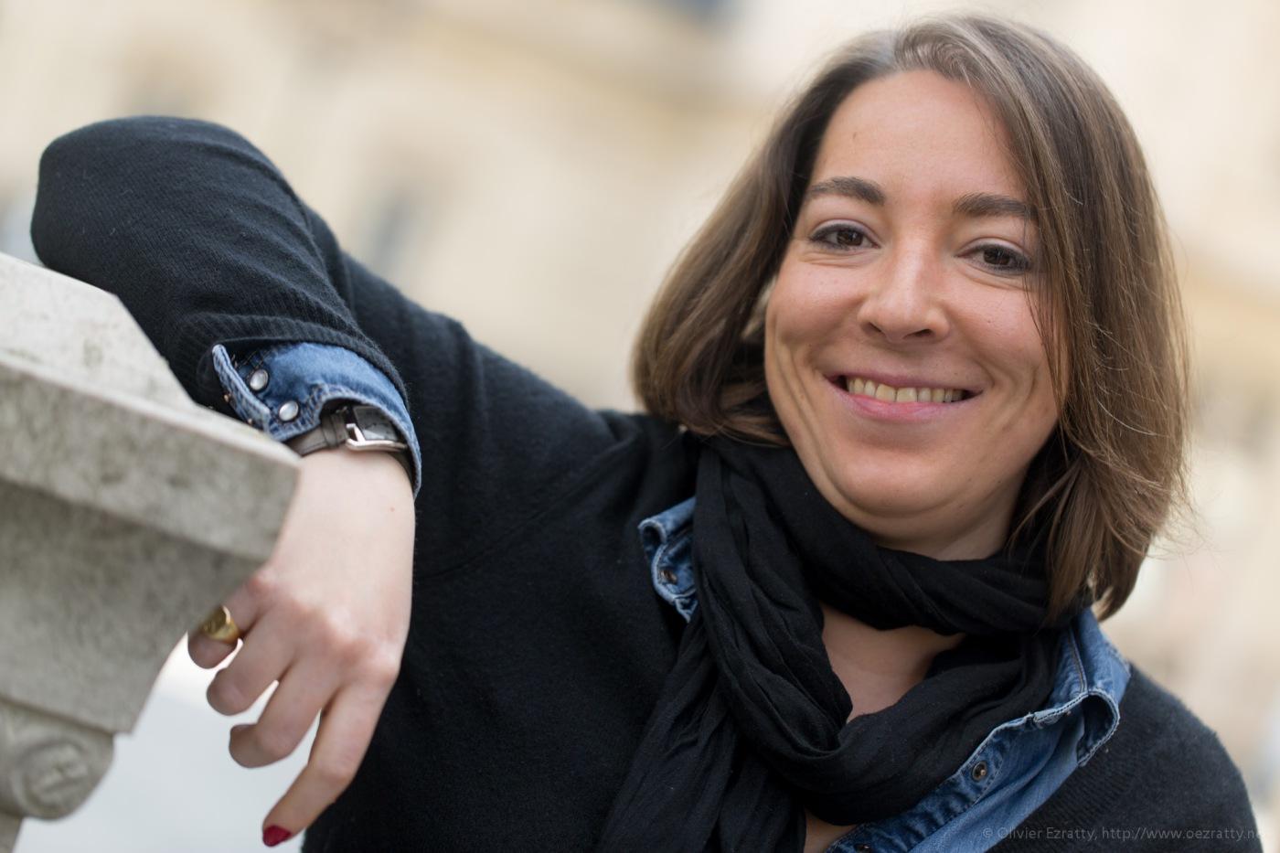 Portrait photo de Marie-Amélie Frere